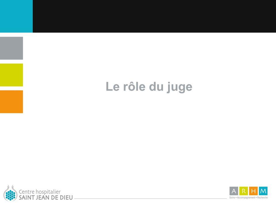 10/07/11 Le rôle du juge