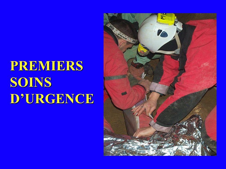 PREMIERS SOINS DURGENCE
