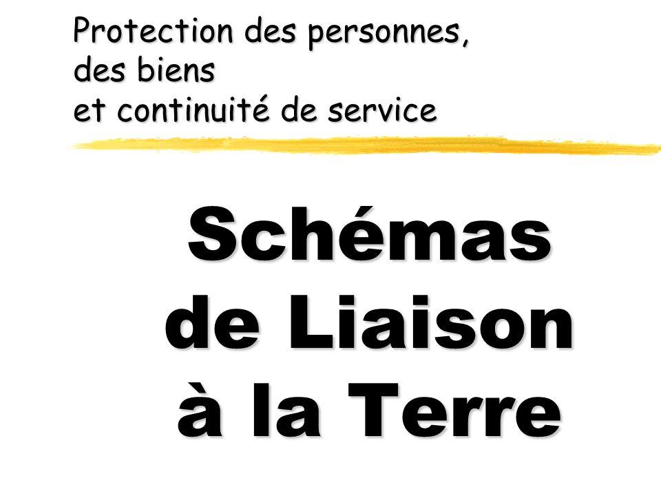 Protection des personnes, des biens et continuité de service Schémas de Liaison à la Terre