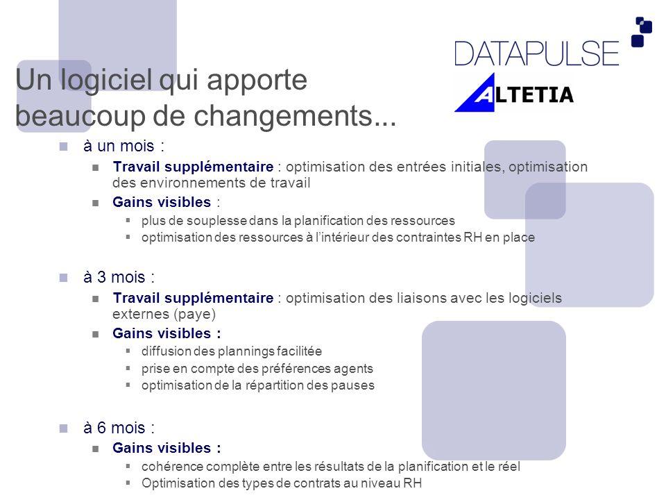 Impliquer votre organisation- Agent Web Portal Plannings Préférences Demande de changement de planning Possibilité de visualiser ses vacations Gérer > Impliquer > Améliorer