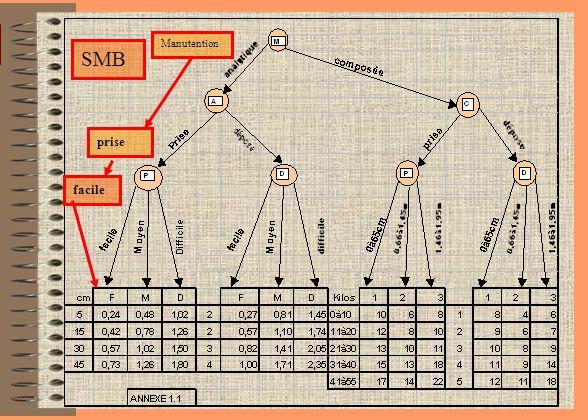 24 SMB : «MANUT» SMB MANUT ManipulationsDéplacements Opérations complémentaires Opérations administratives Annexe 1.1Annexe 12Annexe 1.3Annexe 1.4