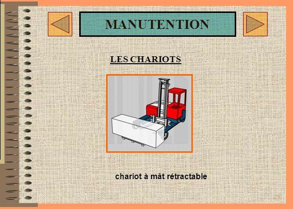 28 MANUTENTION LES CHARIOTS «RETRAK» 1400 Kg Cdg 600 mm Chariot à mat rétractable Jungheinrich : Ce «RETRAK» offre un maximum de confort et de rentabi