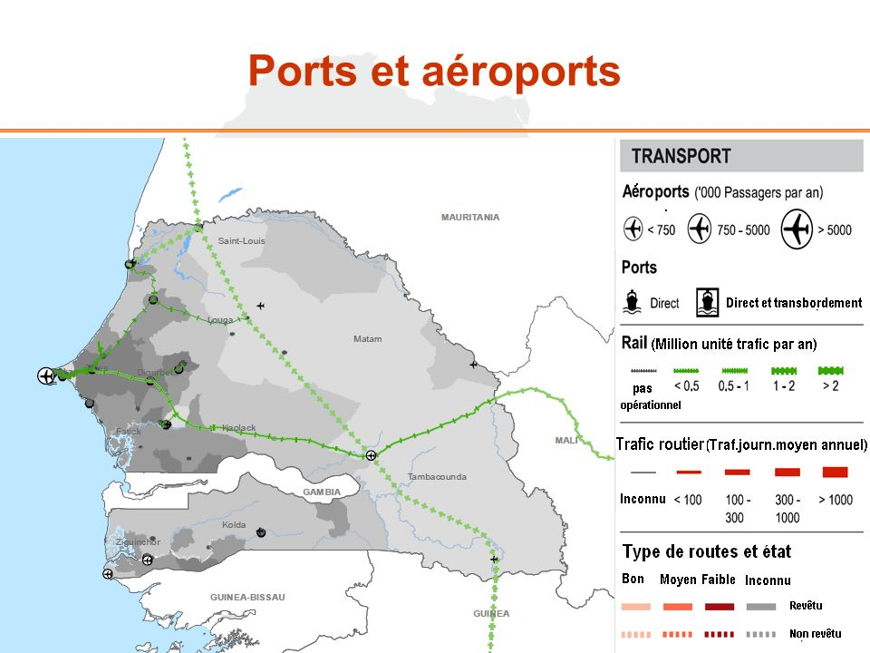 Ports et aéroports