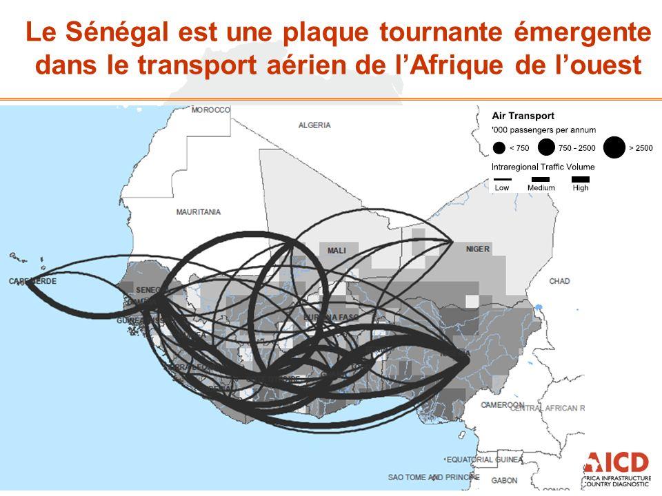Le Sénégal est une plaque tournante émergente dans le transport aérien de lAfrique de louest