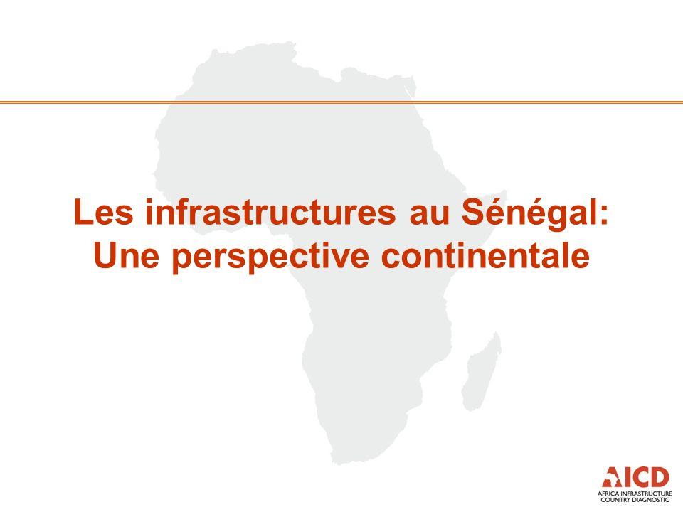 Les infrastructures au Sénégal: Une perspective continentale