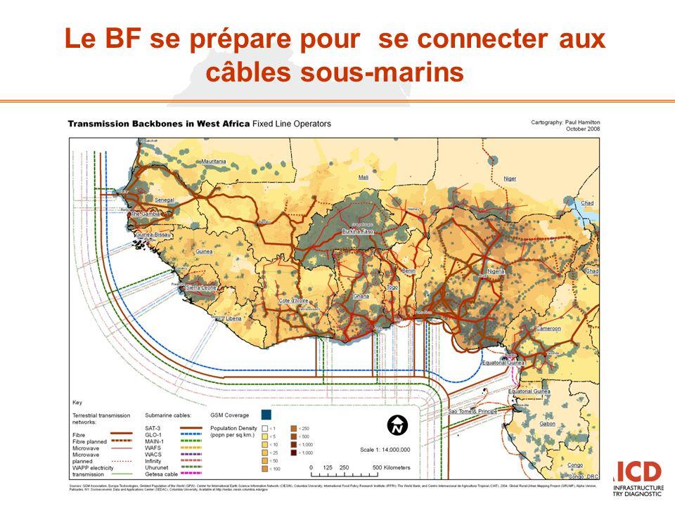 Le BF se prépare pour se connecter aux câbles sous-marins