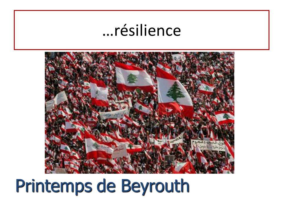…résilience Printemps de Beyrouth