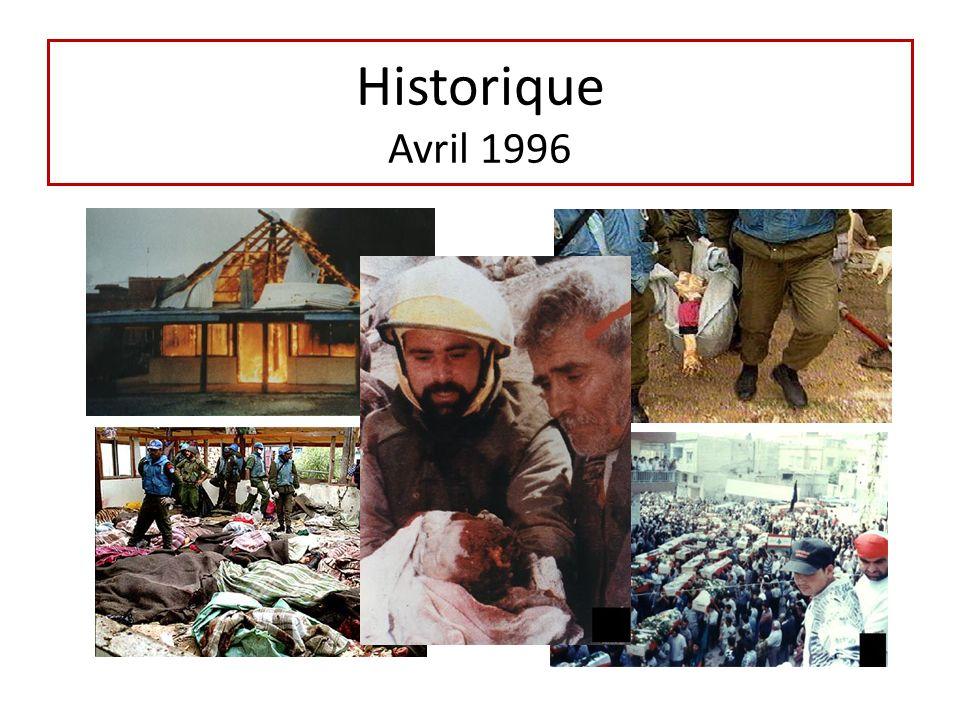 Historique Avril 1996