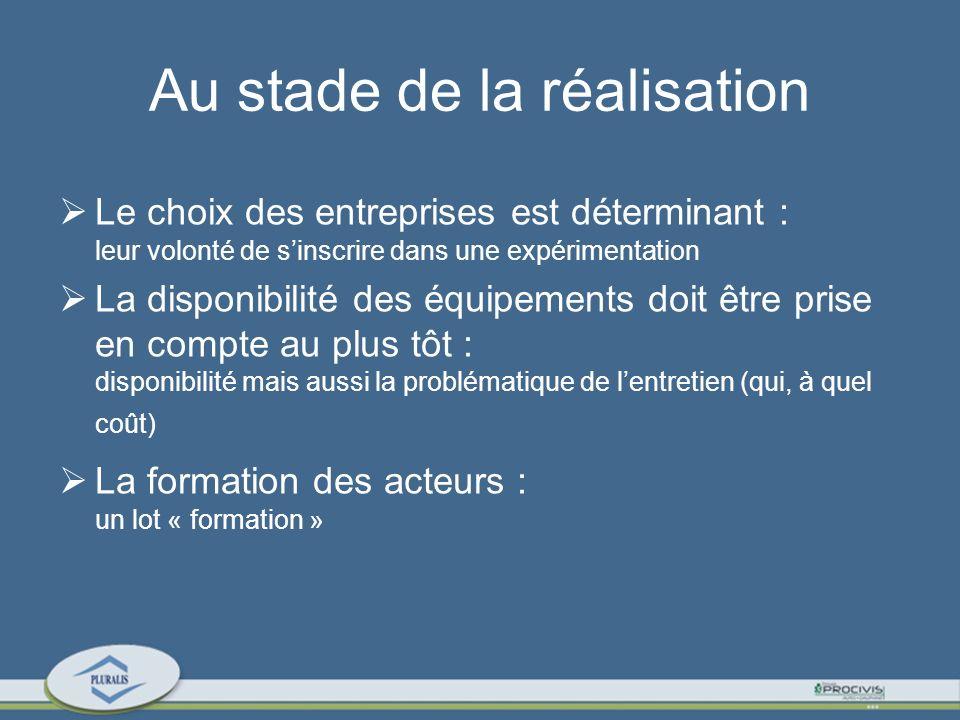 Lutilisation Le choix des habitants doit intégrer la dimension expérimentale : quasi absence de chauffage, étanchéité à lair, etc..