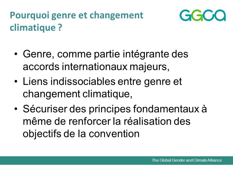 The Global Gender and Climate Alliance Leçons dhistoire Marie Curie Indira Gandhi Dr Gro Harlem Brundtland Sciences (Physique/Chimie) Politique Développement
