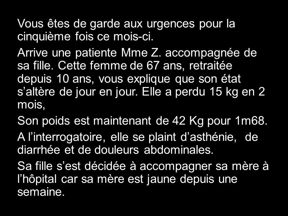 7°) Quels signes radiologiques recherchez-vous.