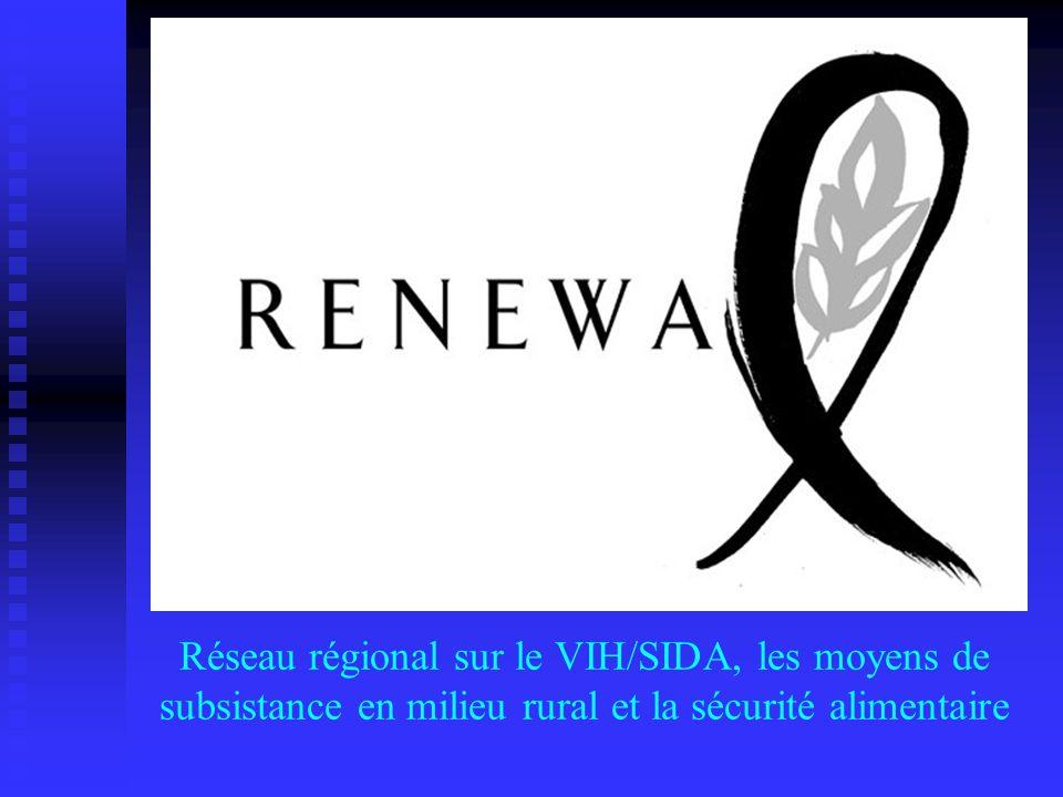 Réseau régional sur le VIH/SIDA, les moyens de subsistance en milieu rural et la sécurité alimentaire