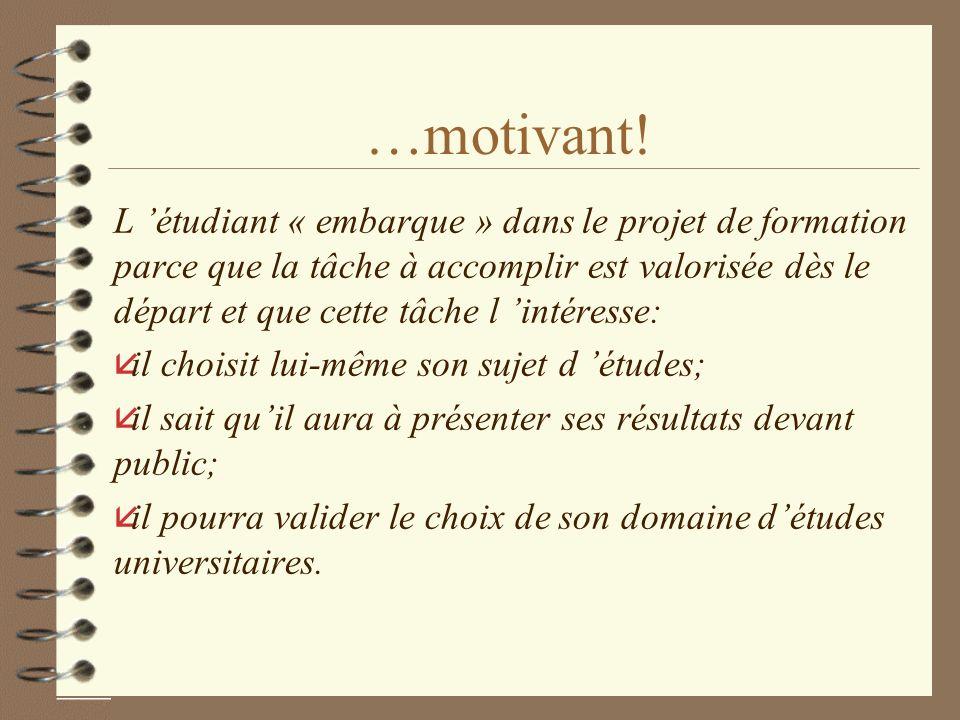 …motivant.