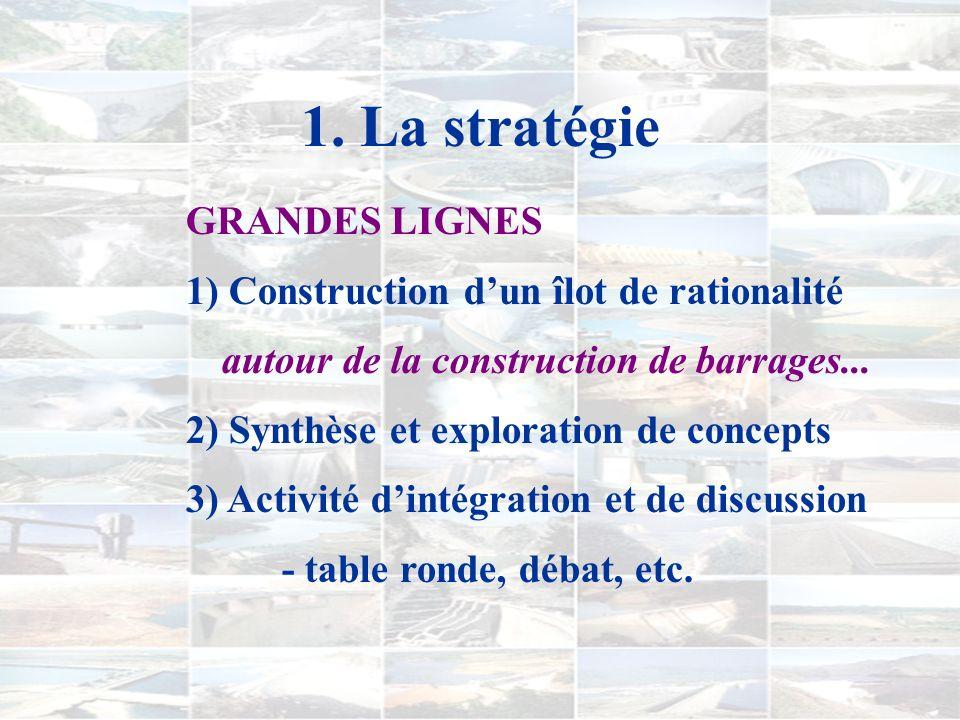 1. La stratégie OBJECTIF PRINCIPAL favoriser la construction de représentations conceptuelles dans un contexte précis par le biais d'interactions avec