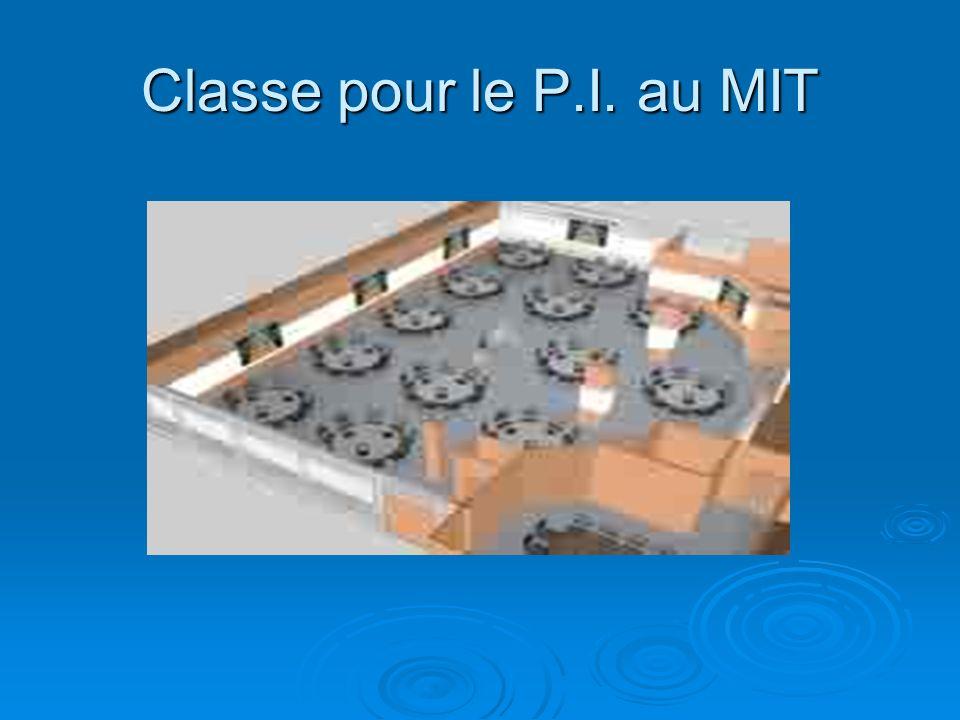 Classe pour le P.I. au MIT