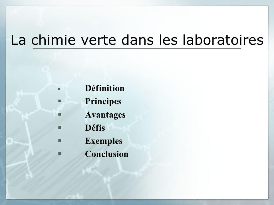 Défis (suite) En lien avec les cours théoriques (illustration, complément, application) Exécution dans le temps prescrit avec du matériel disponible dans un laboratoire denseignement typique.