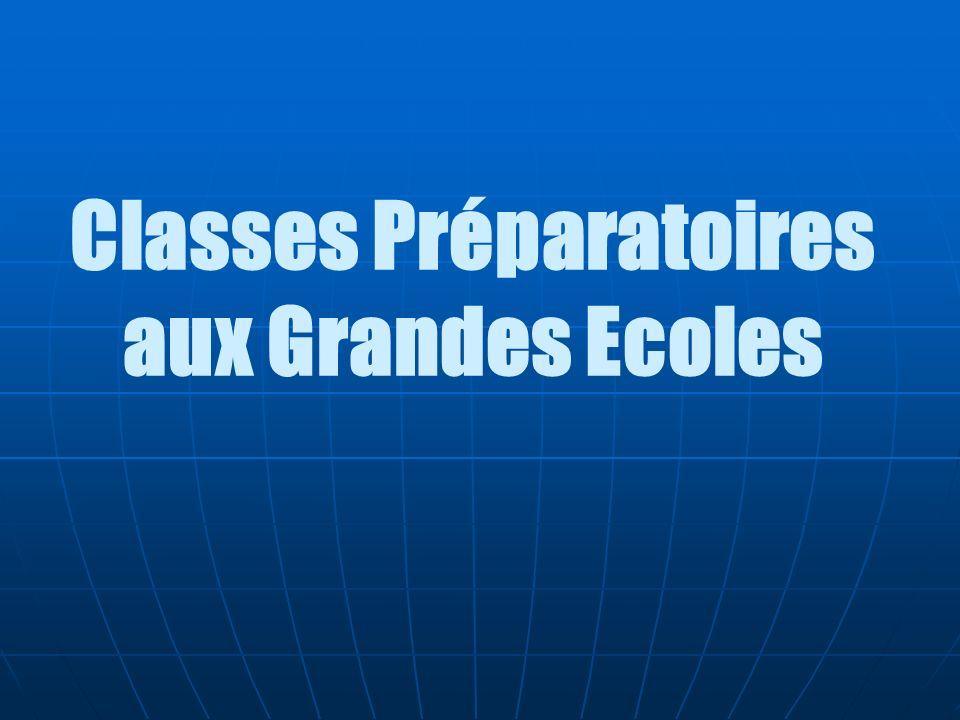 Classes Préparatoires aux Grandes Ecoles