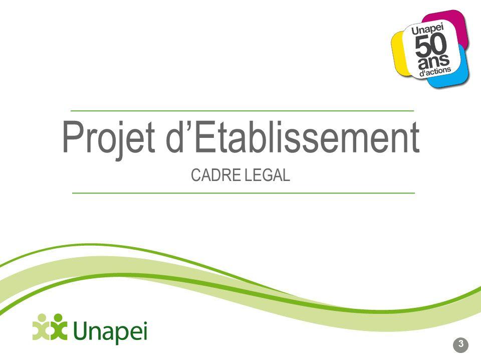 Projet dEtablissement CADRE LEGAL 3