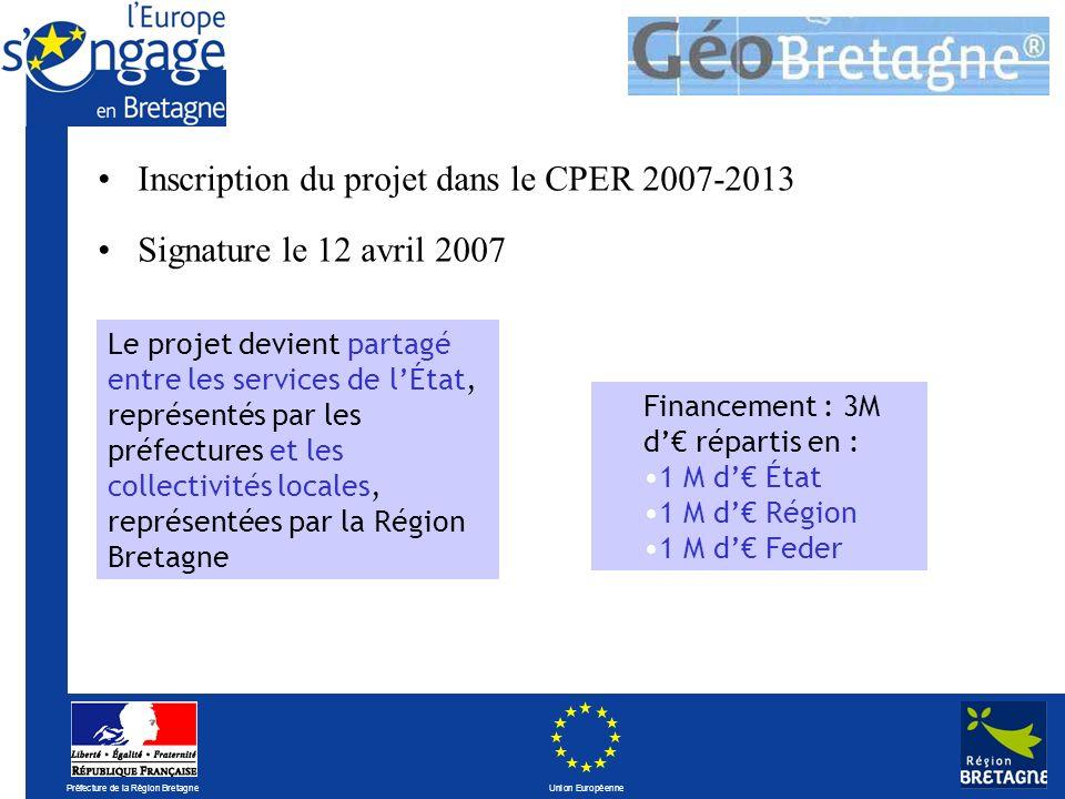 Préfecture de la Région Bretagne Union Européenne Partenariat