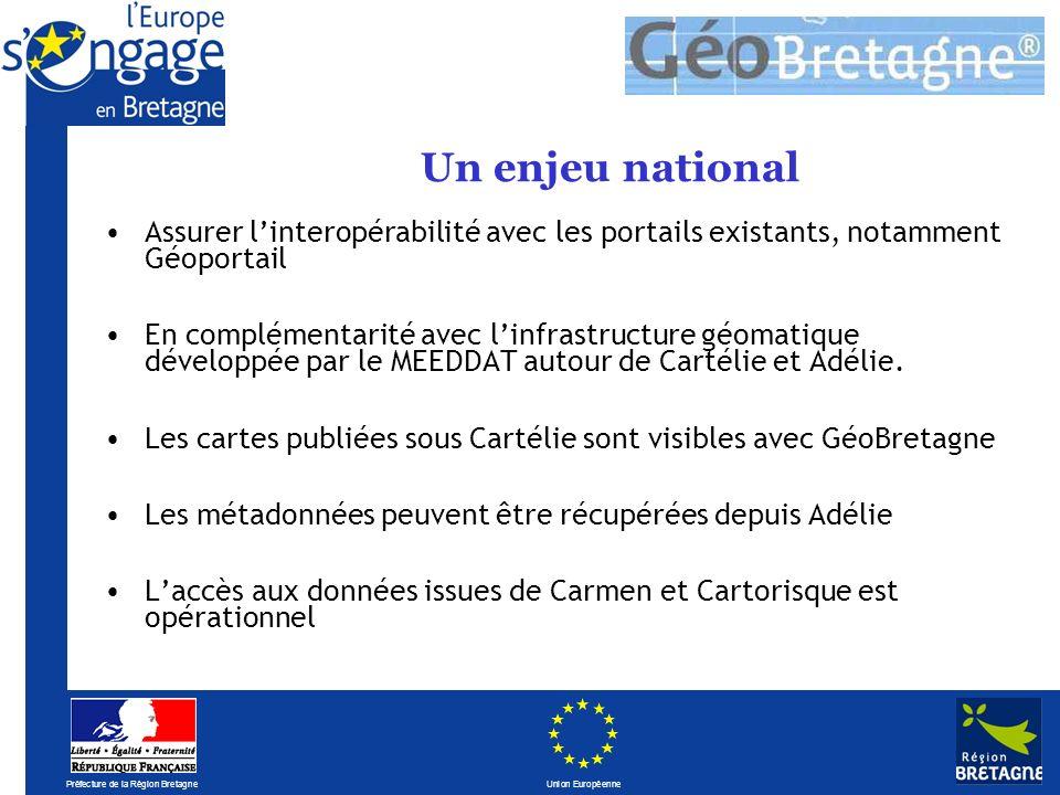 Préfecture de la Région Bretagne Union Européenne