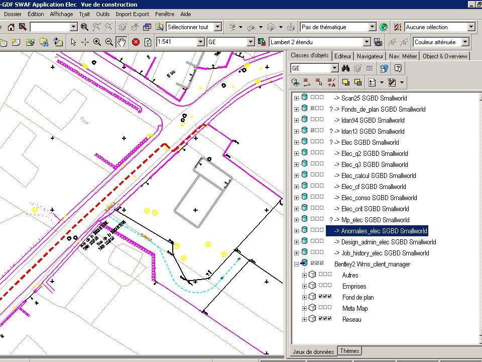 2 décembre 2009Direction Réseau - Loïc REBOURS 14 Test avec Geowebpublisher (Bentley)