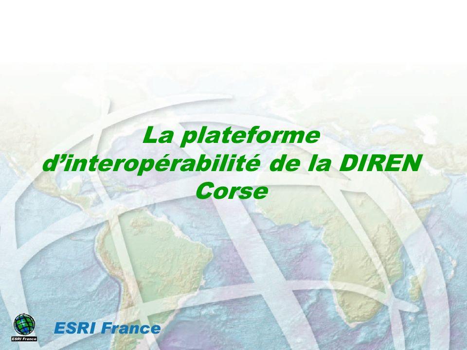La plateforme dinteropérabilité de la DIREN Corse
