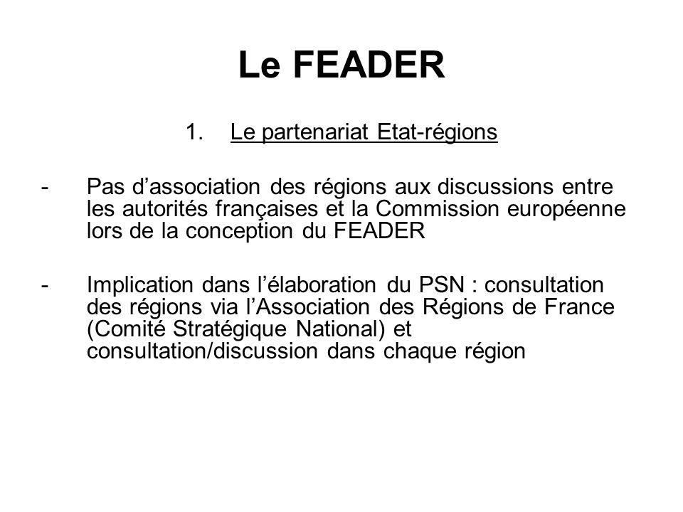 Le FEADER 2.