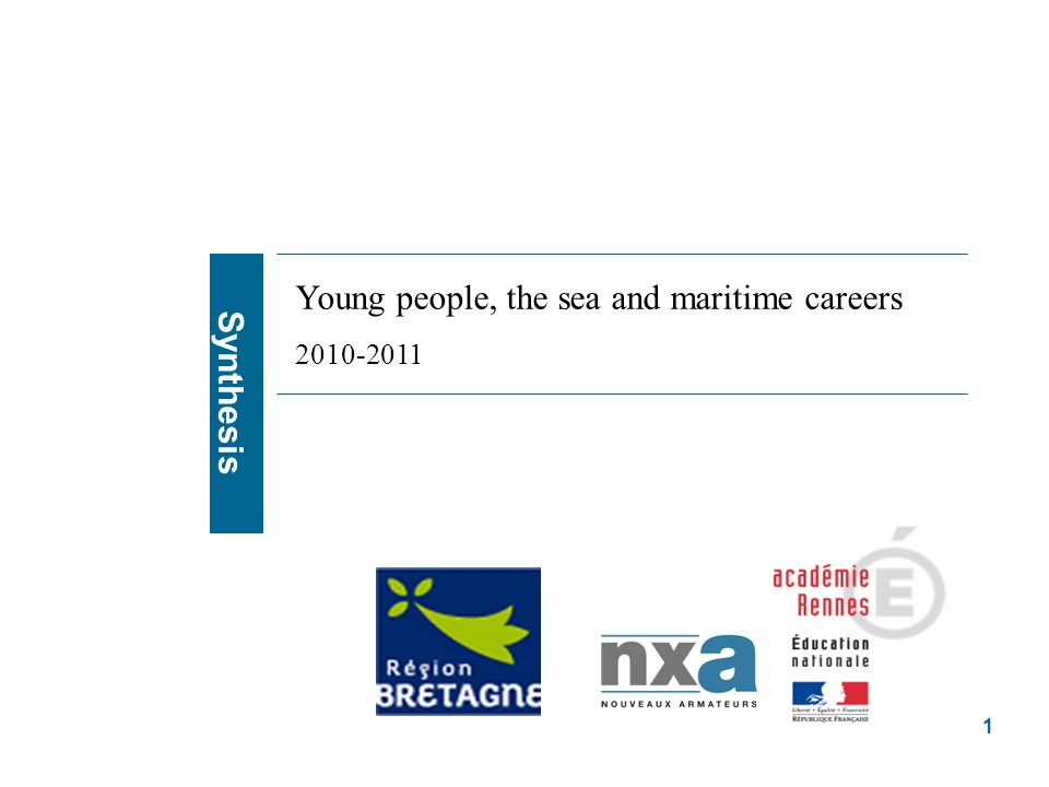 Some jobs that students know about are attractive : leisure, nautical activites Some jobs students dont know are attractive : research Some jobs suffer from stereotyped vision : fishing and shellfish breeding Jobs that leave students indifferents : shipping, shipbuilding… A job known is not disliked Enquêtes qualitative & quantitative 2010, représentations sociales du secteur maritime 22