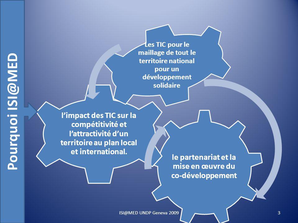 le partenariat et la mise en œuvre du co-développement limpact des TIC sur la compétitivité et lattractivité dun territoire au plan local et international.