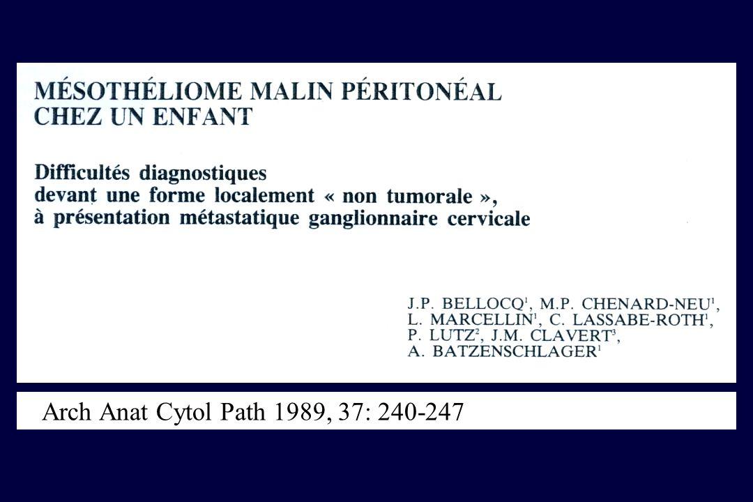 Arch Anat Cytol Path 1989, 37: 240-247