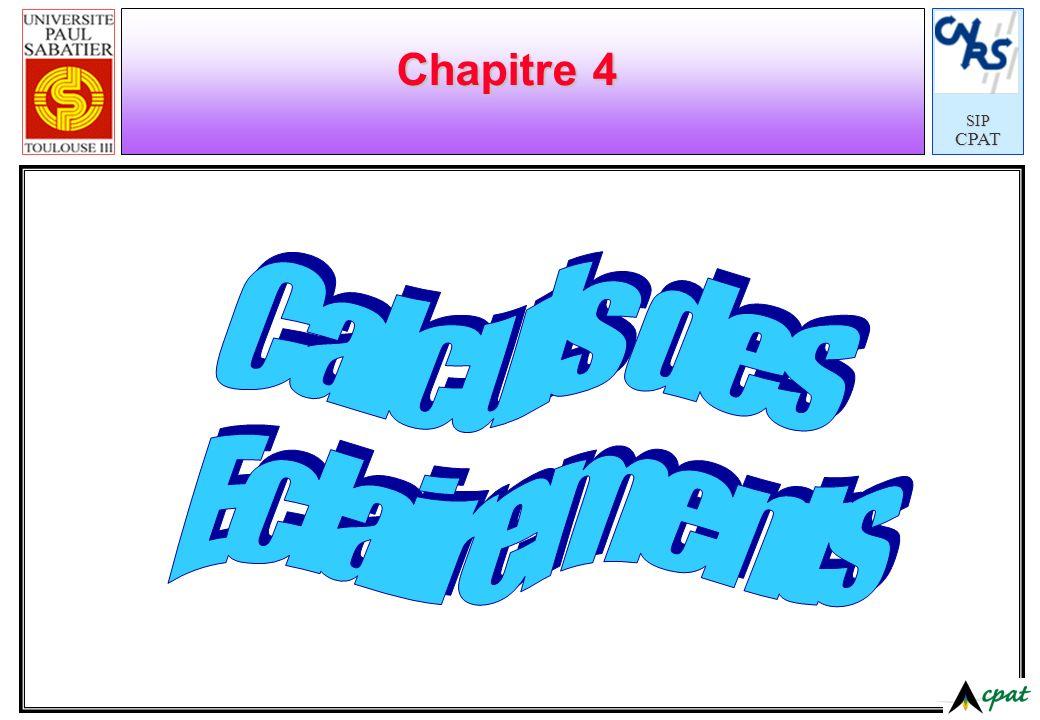 SIPCPAT Chapitre 4