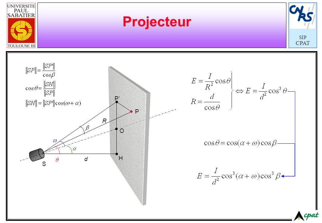 SIPCPAT Projecteur S H P P O d R
