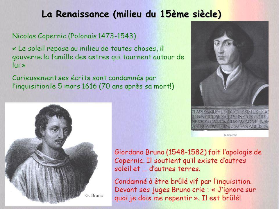 La Renaissance: Galilée (1564-1642) P.R.S.Galilée Une lunette pour le prince.
