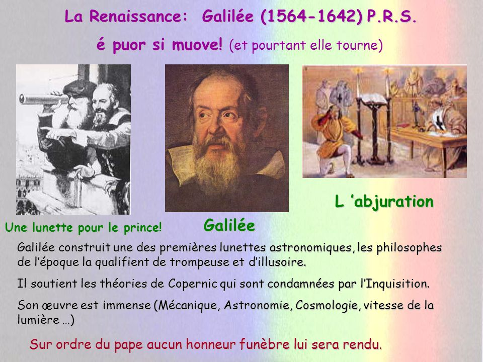 Galilée le Père du Raisonnement Scientifique: OBSERVERMESURERMODELISERVERIFIER