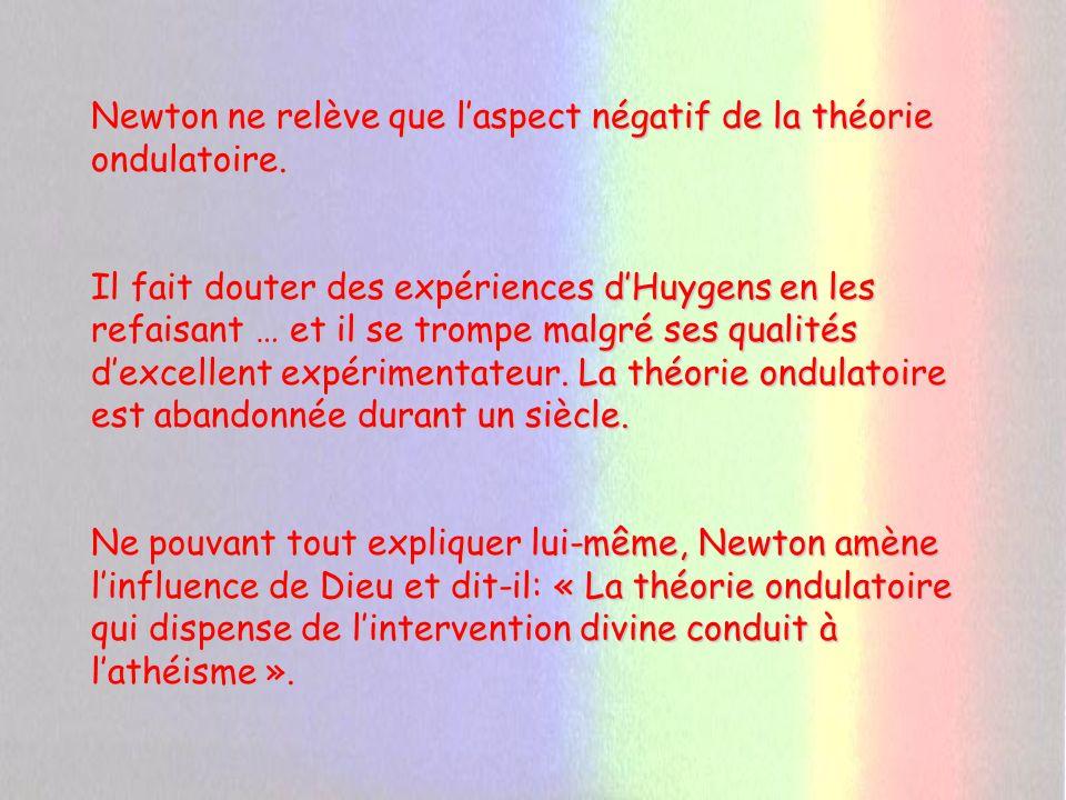 Le Siècle des Lumières (XVIII ème siècle) Les bouleversements sociaux, politiques, économiques et philosophiques vont influer sur les questionnements de la science sur elle-même.