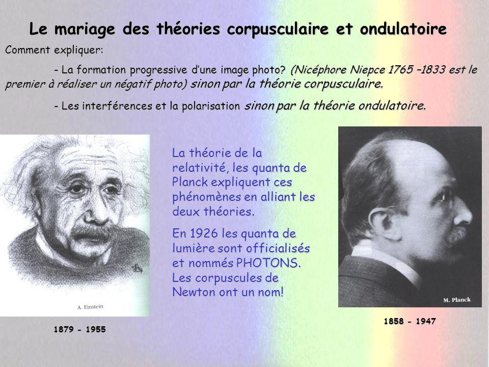 -Newton (corpuscules) a proposé une mécanique se référant à un temps et à un espace absolus, identiques dans tous les espaces.