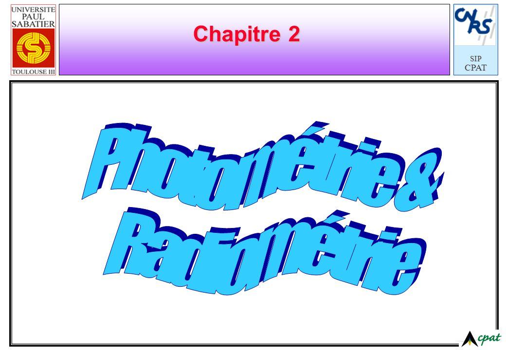 SIPCPAT Chapitre 2