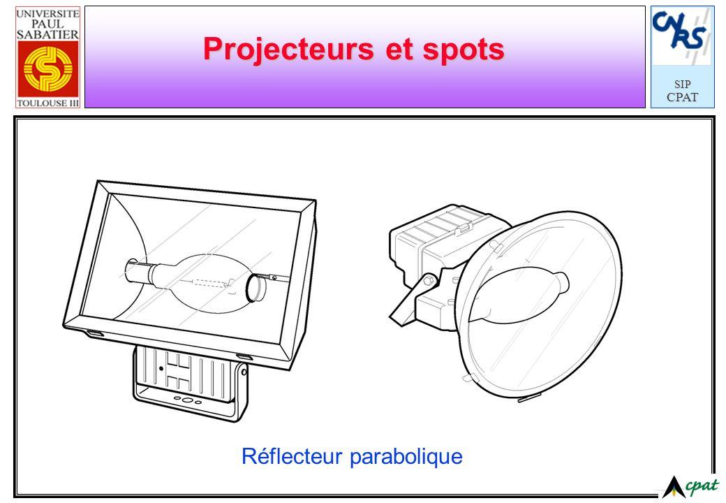 SIPCPAT Projecteurs et spots Réflecteur parabolique