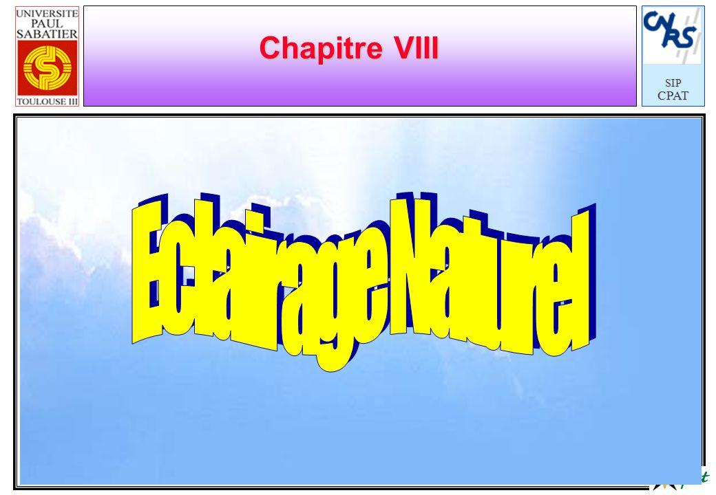 SIPCPAT Chapitre VIII