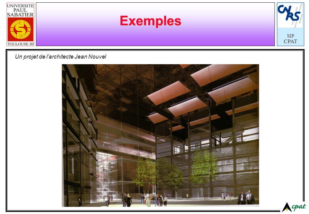 SIPCPAT Exemples Un projet de larchitecte Jean Nouvel