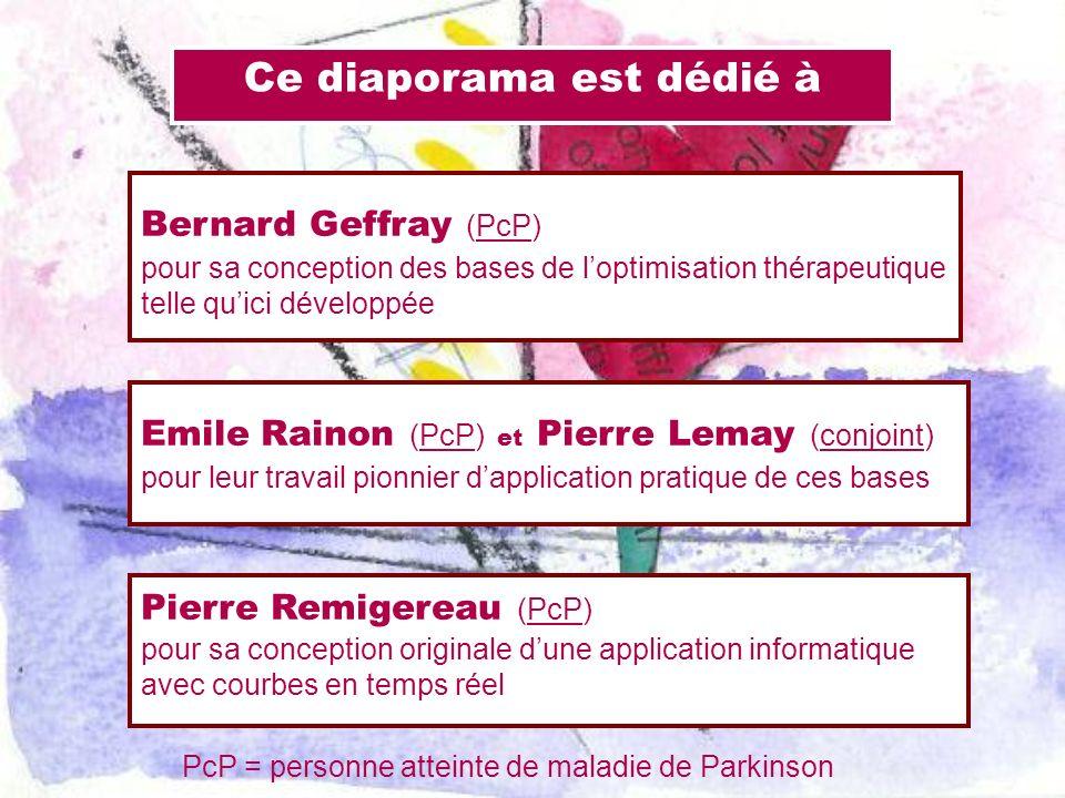 Ce diaporama est dédié à Emile Rainon (PcP) et Pierre Lemay (conjoint) pour leur travail pionnier dapplication pratique de ces bases Pierre Remigereau