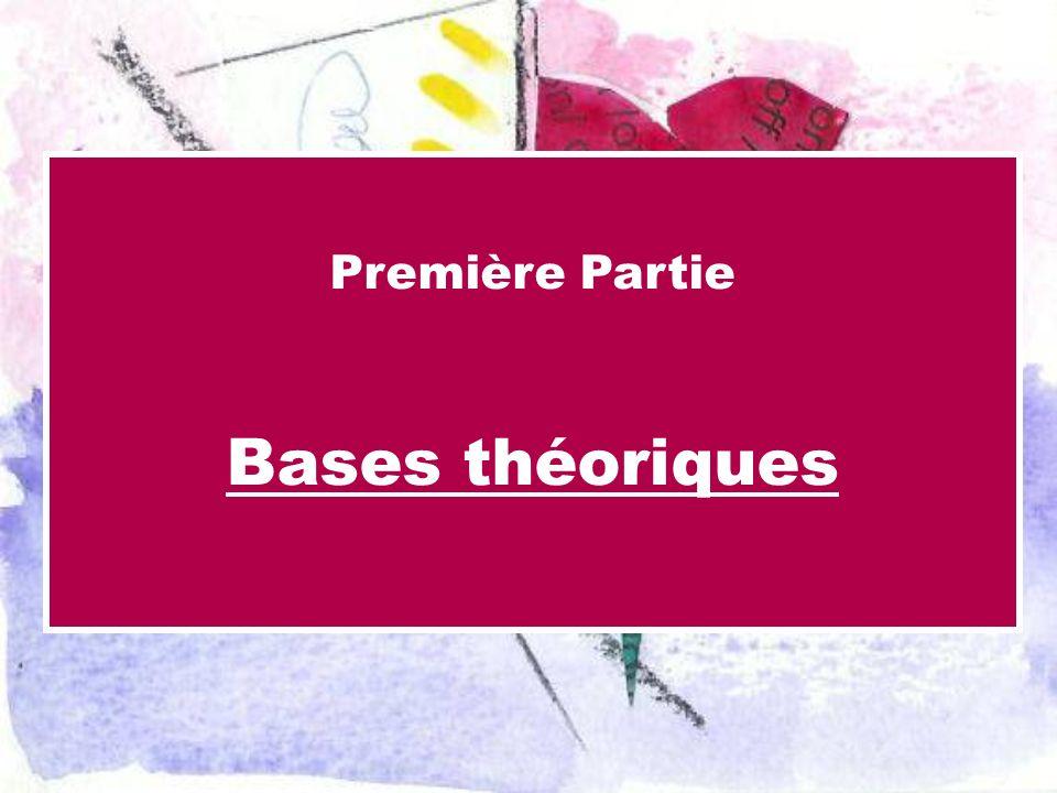 Première Partie Bases théoriques