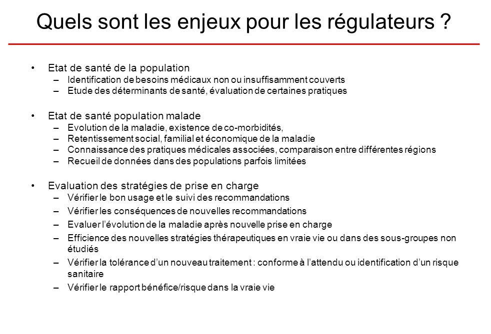 Quels sont les enjeux pour les régulateurs .