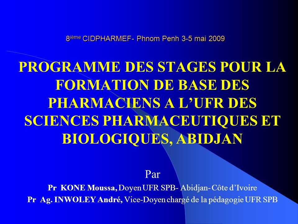 PLAN 1. INTRODUCTION 2. DIFFERENTS STAGES 3. ORGANISATION DES STAGES 4. CONCLUSION