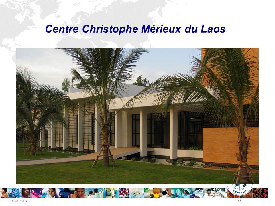 08/01/2014 11 Centre Christophe Mérieux du Laos