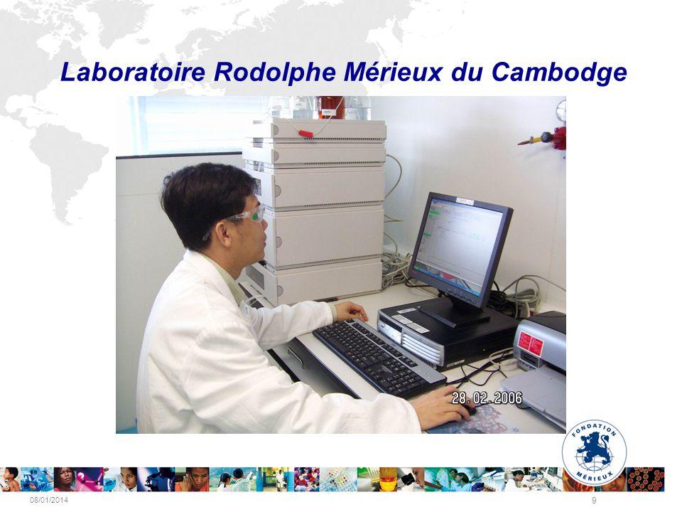08/01/2014 9 Laboratoire Rodolphe Mérieux du Cambodge
