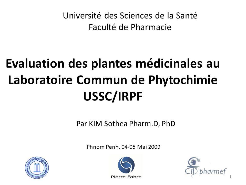 RESULTATS TEST DE CRIBLAGE - 80 extraits parmi 1000 extraits des plantes sont actifs pour le test de cytotoxicité (actifs à concentration 25 µg/mL).