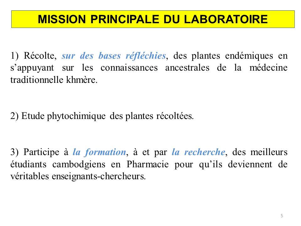 REMERCIEMENTS LEQUIPE DU LABORATOIRE COMMUN DE PHYTOCHIMIE USSC/IRPF 16