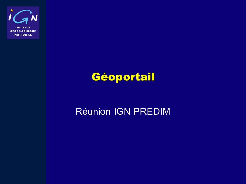 Géoportail Réunion IGN PREDIM