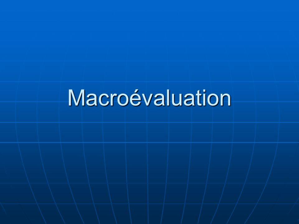 Macroévaluation